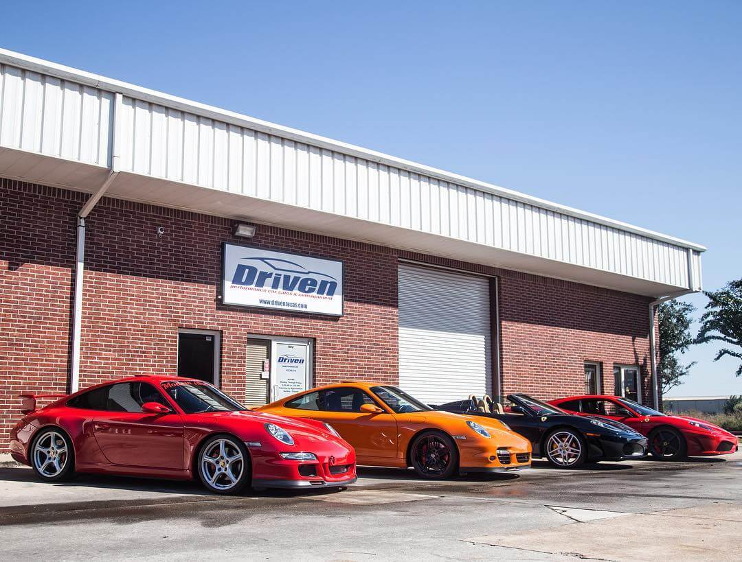 Picture of the Driven Showroom at 11875 W Little York Rd, Ste 802, Houston TX 77041